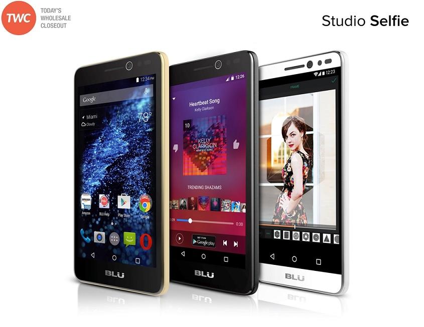 wholesale brand new blu studio selfie s070q white 4g gsm