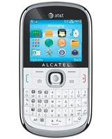 WHOLESALE ALCATEL 871A WHITE 3G 2MP QWERTY KEYBOARD RB