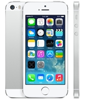 Apple iPhone 5s 32GB Silver / White Cell Phones RB