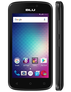 New Blu Advance 4.0M A090U BLACK 4G Cell Phones