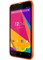 New Blu Dash 5.5 D470u Orange 4G Cell Phones