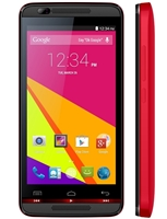 New BLU DASH MUSIC 4.5 D490 Red Android Cell Phones