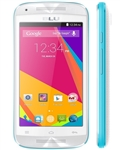 New BLU Dash Music Jr D390 White/Blue Android Cell Phones