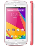 New BLU Dash Music Jr D390 White/Pink Android Cell Phones