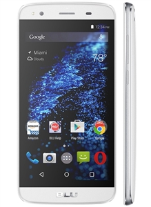 New BLU DASH X PLUS LTE D0030UU 4G-LTE WHITE Cell Phones