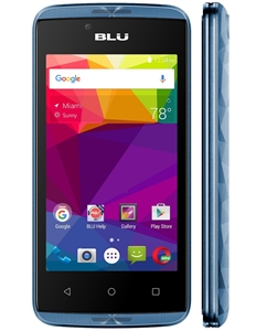 New Blu ENERGY DIAMOND MINI E090U 4G BLUE  Cell Phones