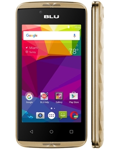New Blu ENERGY DIAMOND MINI E090U 4G GOLD  Cell Phones