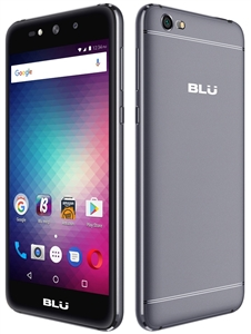 New BLU GRAND MAX G110Q 4G GREY Cell Phones