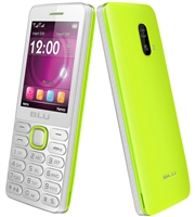 Wholesale Brand New BLU Janet L T230 White-Yellow Dual-Sim Unlocked Cell Phones