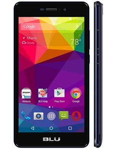 Brand New LIFE XL 4G-LTE L0050UU BLACK 4G Cell Phones