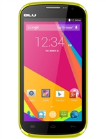 Brand New Blu Studio 5.0k D530k Yellow GSM Unlocked Cell Phones