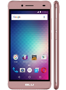New BLU STUDIO C 8+8 S270Q 4G ROSE PINK Cell Phones