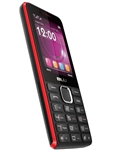 New Blu Tank II T193 Black / Red Cell Phones