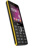 New Blu Tank II T193 Black / Yellow Cell Phones