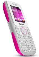BLU Tank T190i White / Pink GSM Unlocked Cell Phone RB
