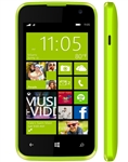 New Blu Win Jr 4.0 W410u Yellow 4g Windows Cell Phones