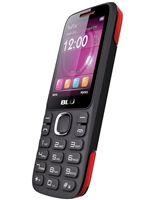 New Blu Zoey 2.4 T278 Black / Red Dual-Sim Cell Phones