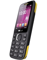 New Blu Zoey 2.4 T278 Black / Yellow Dual-Sim Cell Phones