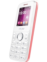 New Blu Zoey II T276 White/Pink Cell Phones