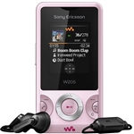 WHOLESALE NEW SONY ERICSSON W205 PINK GSM UNLOCKED,