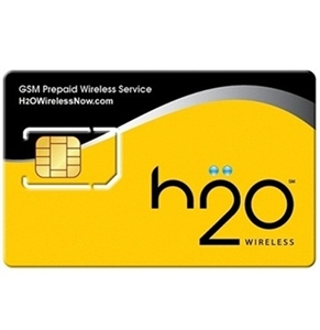 WHOLESALE H20 WIRELESS PREPAID SIM CARD KIT FOR UNLIMITED TALK & TEXT
