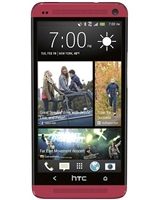 WHOLESALE HTC ONE M7 32GB RED 4G LTE AT&T GSM UNLOCKED RB