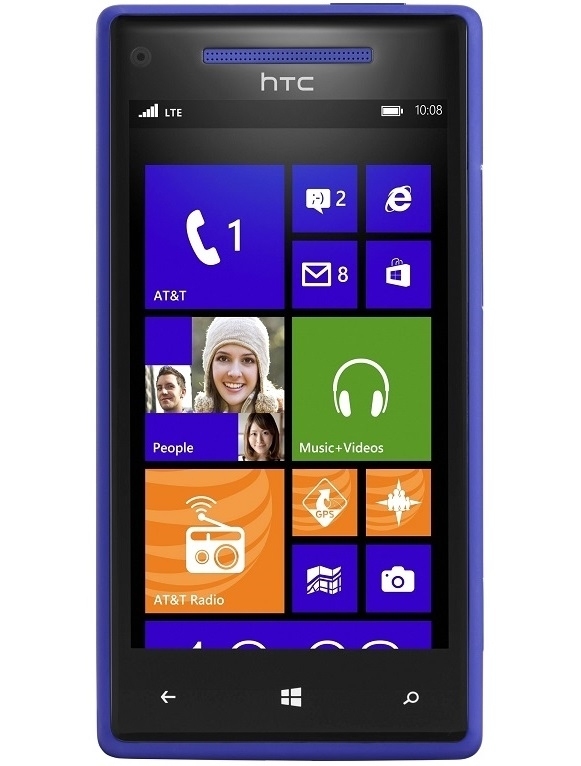 Wholesale htc windows 8x blue 4g lte at t h2o locked cell for Window 4g phone