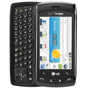 WHOLESALE, LG ALLY VS740 BLACK 3G WI-FI  VERIZON PAGE PLUS RB