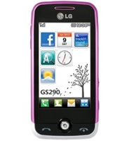 LG GS290 Cookie Fresh Pink Cell Phones RB