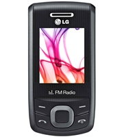 New LG GU200 Silver 900/1800 Feature Cell Phones