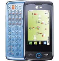 LG Cookie GW520 Black/Blue Cell Phones RB