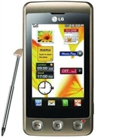 LG Cookie KP500 Gold Cell Phones Carrier Returns