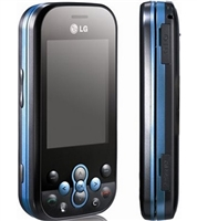 LG KS360 Black / Blue Cell Phones RB