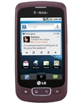 WHOLESALE, LG OPTIMUS T P509 BURGUNDY RED T-MOBILE RB
