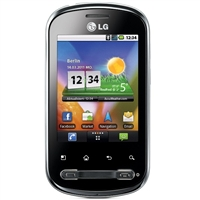 WHOLESALE LG OPTIMUS ME P350 3G BLACK WIFI GSM ANDROID RB