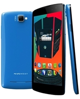 Wholesale Brand New Maxwest Gravity 5.5 Blue Cell Phones