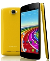 Wholesale Brand New Maxwest Gravity 5.5 Yellow Cell Phones