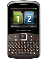 Motorola EX115 Gray Dual-Sim Cell Phones Carrier Returns