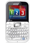 WHOLESALE NEW MOTOROLA EX117 WHITE PINK TRIPLE-SIM GSM UNLOCKED