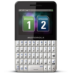 WHOLESALE NEW MOTOROLA EX119 DUAL SIM WI-FI GSM UNLOCKED WHITE