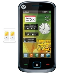 WHOLESALE NEW MOTOROLA EX128 KINGFISHER WHITE DUAL SIM GSM UNLOCKED