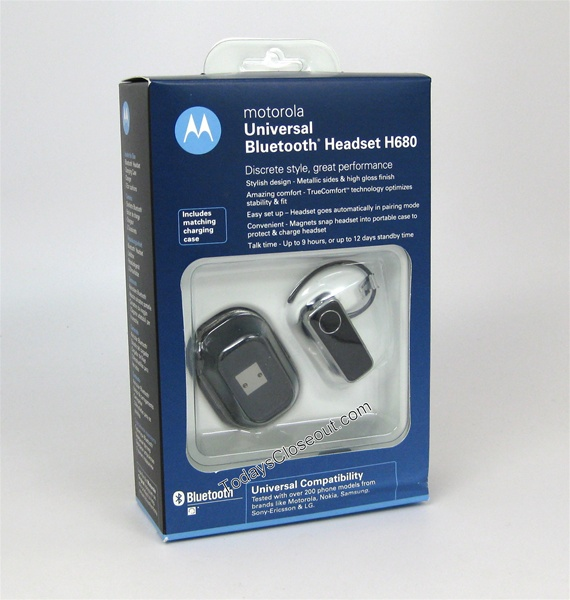���������� � Bluetooth Motorola H680
