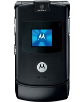 Motorola Razr V3 Black Cell Phones RB