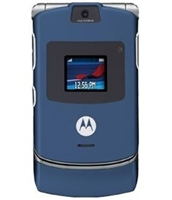 Wholesale Motorola Razr V3 Blue Unlocked Cell Phones RB