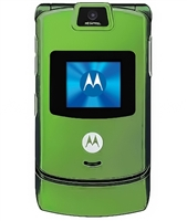 Wholesale Motorola Razr V3 Lime Green Unlocked Cell Phones RB