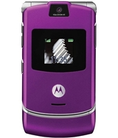 Wholesale Motorola Razr V3 Purple Unlocked Cell Phones RB