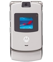 Wholesale Motorola Razr V3 Silver Unlocked Cell Phones RB