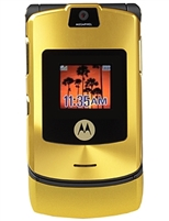 Motorola V3i Gold Special Edition Cell Phones RB