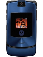 Motorola Razr V3xx Blue Cell Phones RB