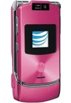 Motorola Razr V3xx Pink Cell Phones RB